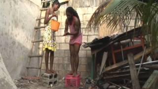 Jamaican Girl Bathe Rastaman
