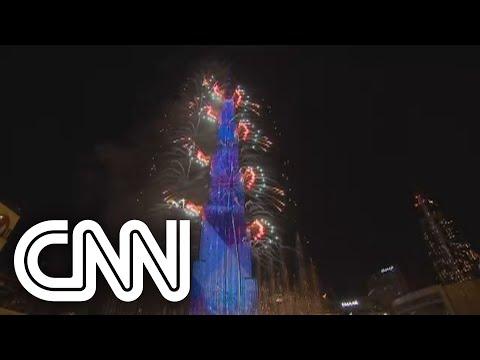 Dubai festeja chegada de 2021  CNN 360º
