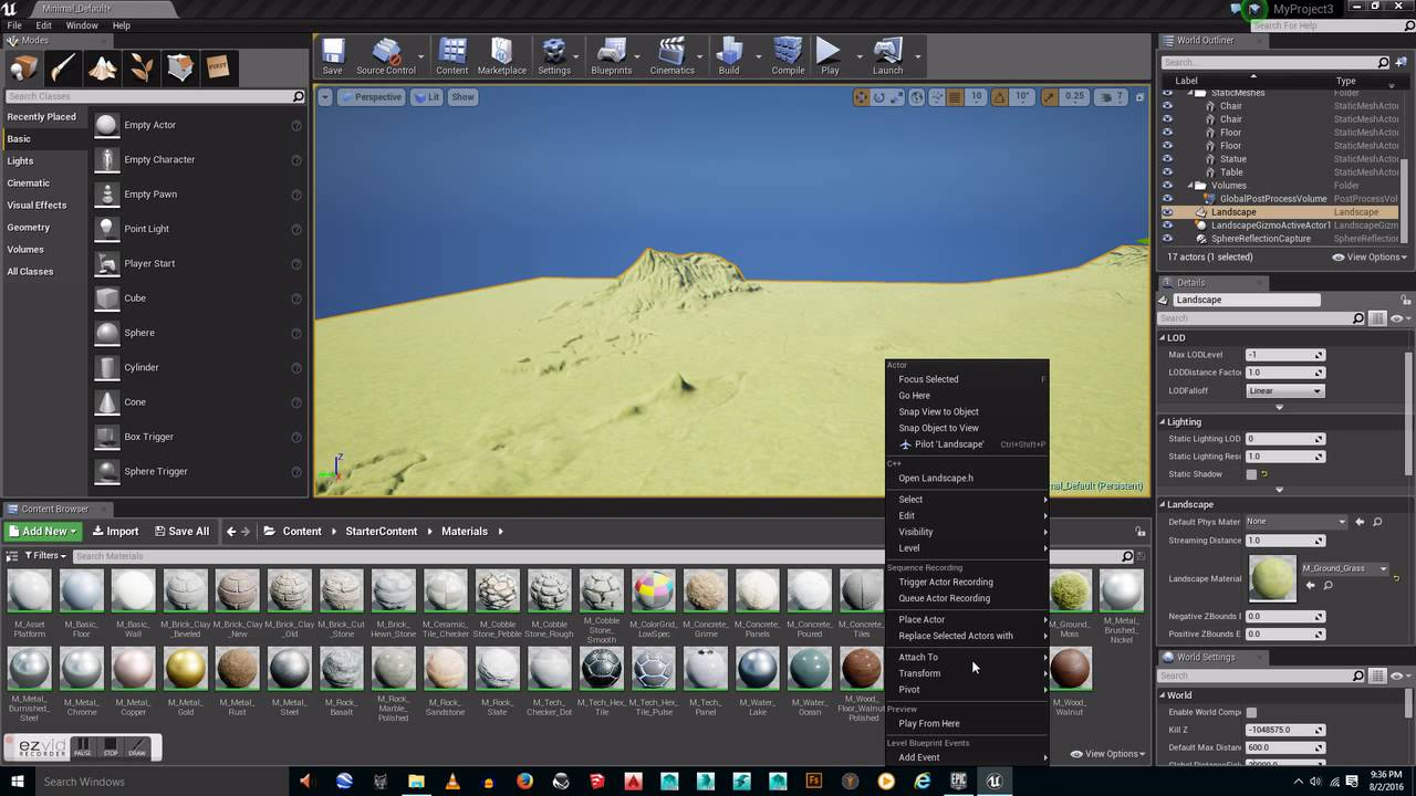 Unreal Engine 4: Importing Real World Terrain With Terrain Party