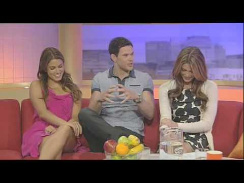 Kellan Lutz, Ashley Greene & Nikki Reed at GMTV