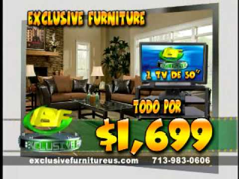 EXCLUSIVE FURNITURE En Espanol