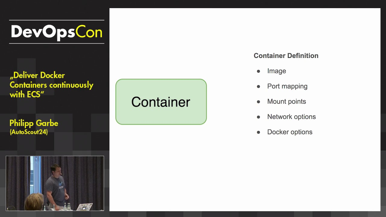 Deliver Docker Containers continuously with ECS