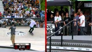 Maloof Money Cup NY 2010 Pro Finals Round 1 Jam 1 Busenitz vs Kennedy