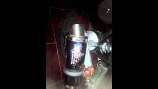 supra x 125 custom knalpot R9 suara moge