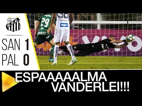 MONSTRO! Veja as OITO defesas de Vanderlei na vitória sobre o Palmeiras
