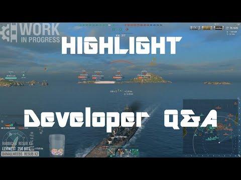 Highlight: WoWS Developer Q&A