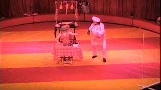 Duo Masters Comedy spinning plate act