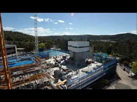 Gosford Hospital Redevelopment Timelapse