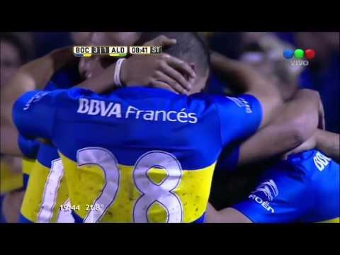 Boca Juniors 4-1 Aldosivi - Fecha 11 Torneo de Transición 2016