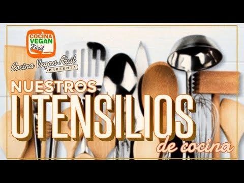 Nuestros utensilios de cocina - Cocina Vegan Fácil