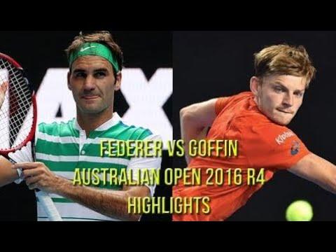 Roger Federer Vs David Goffin - Australian Open 2016 R4 (Highlights HD)