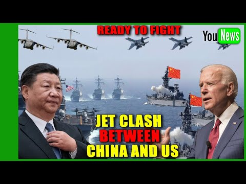 READY TO FIGHT! China and US seconds from triggering WW3 in South China Sea jet clash