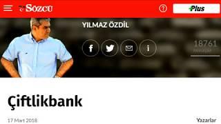 ÇiftlikBank - Yılmaz Özdil (17.03.2018 Sesli Köşe)