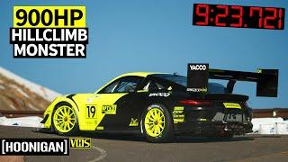 900hp Twin Turbo Porsche 911 Conquers the 2019 Pikes Peak International Hillclimb!
