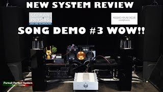#HiFi Review German Physiks Unlimited Speakers Audio Analogue Maestro Anniversary Song Demo #3 WOW