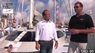 TAG 60 model overview at Cannes Boat Show 2014