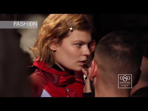 MIETIS Backstage 080 Barcelona Fashion Fall Winter 2018 19 - Fashion Channel - 동영상