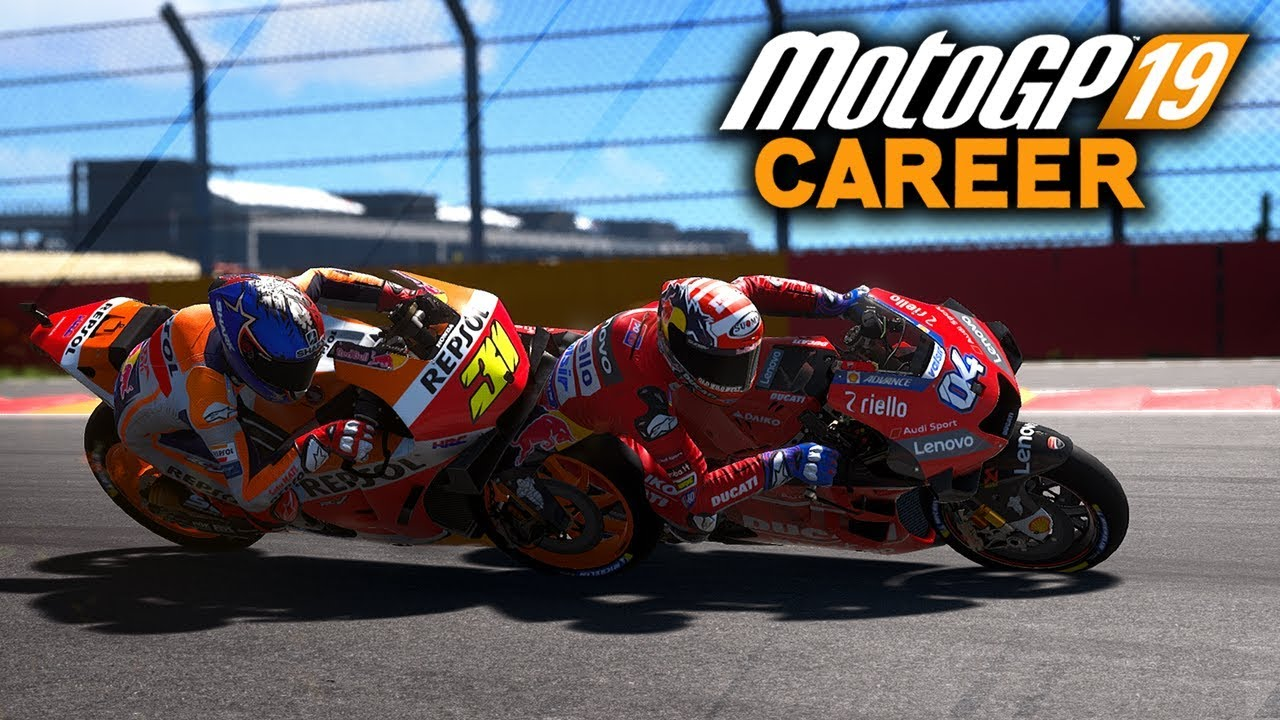 Battling Old Teammate Motogp 19 Career Mode Gameplay Part 72 Motogp 2019 Game Ps4 Youtube