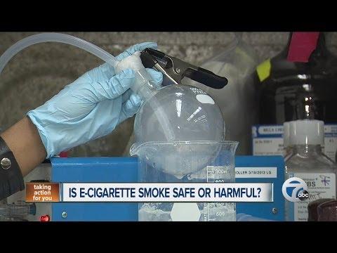 Is E-Cigarette smoke safe or harmful?