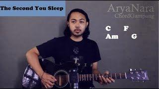 Gambar cover Chord Gampang (The Second You Sleep - Saybia) by Arya Nara (Tutorial Gitar) Untuk Pemula