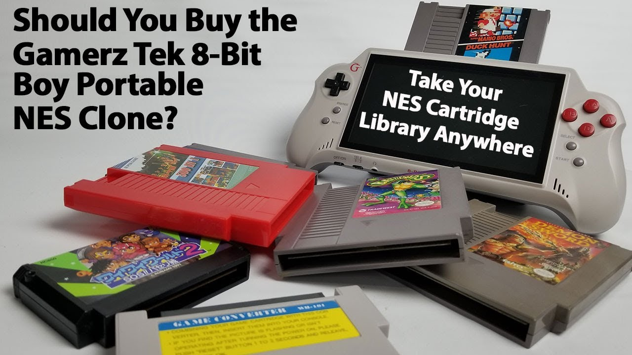 Should You Buy The Gamerz Tek 8 Bit Boy Portable NES Clone System With HDMI Output 7 Inch Display