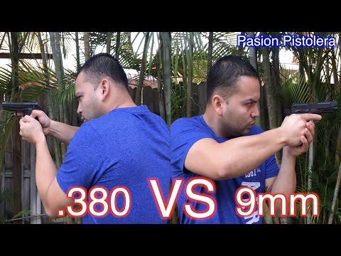 9MM vs 380ACP (EN ESPAÑOL) | CUAL ES MEJOR PARA DEFENSA?