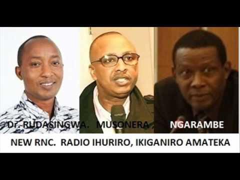 Dr.Theogene RUDASINGWA ITANGAZO KURI GENOCIDE Y'ABAHUTU