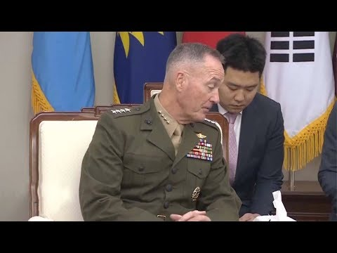 US Chair of Joint Chiefs of Staff Joseph Dunford to arrive in Beijing