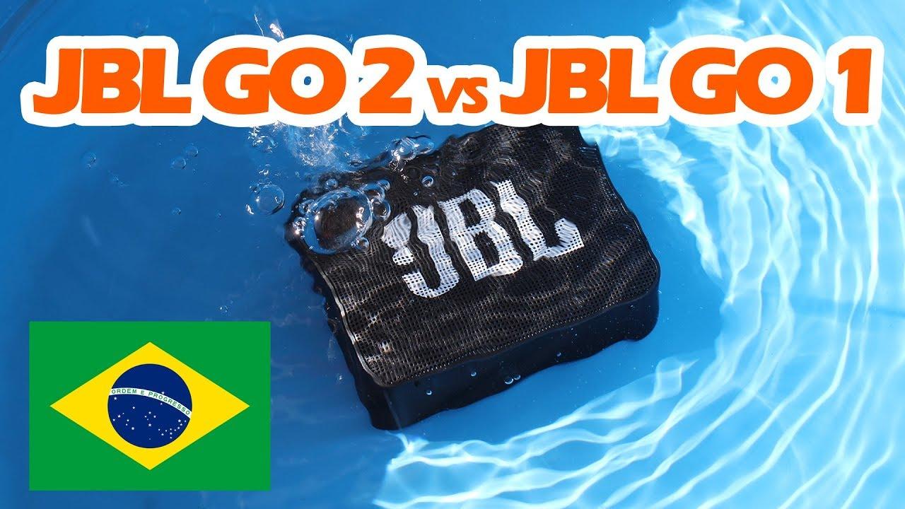 jbl go 2 vs jbl go 1 portugu s brasil youtube. Black Bedroom Furniture Sets. Home Design Ideas