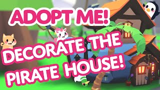 Team Adopt Me decorates the Pirate Ship House! 🏴‍☠️👯 Adopt Me! on Roblox