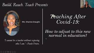 Teaching After Covid-19: How to deal with this new normal in education?