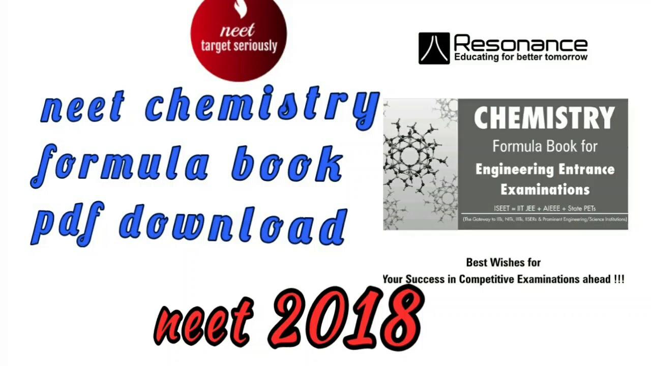 Chemistry Formula Book