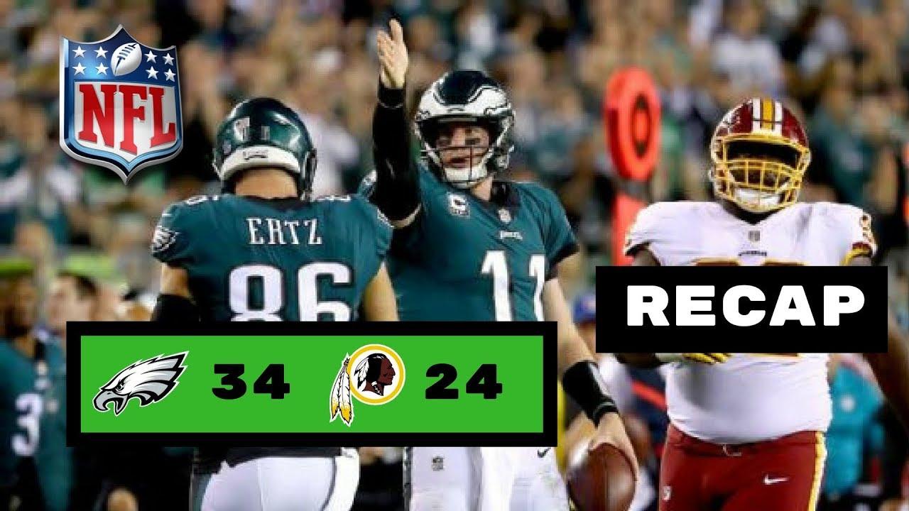 Philadelphia Eagles Vs Washington Redskins Week 7 MNF Recap