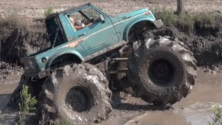 Floating Suzuki Samurai(Soggy Bottom Mud Pit Facebook http://www.HdBroadcaster.net https://www.facebook.com/downanddirtyproductions http://www.SoggyBottomMudPit.com ..., 2014-04-19T19:50:05.000Z)