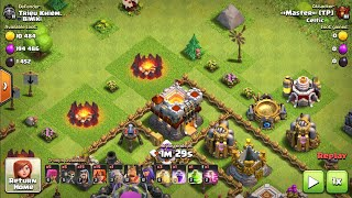 Clash of Clans- Crazy Base Vs Crazy Attack
