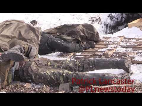 18+ War crimes:Tortured civilians near Debaltseve Anti-Kiev DNR Report Pro-Kiev Forces did this