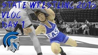 State Wrestling Vlog - Day 1 - 2018 Nebraska State Wrestling Championships - Wrestling Vlogs