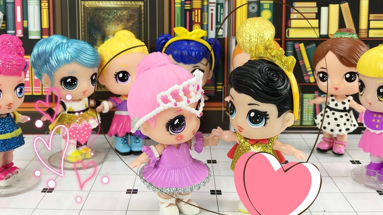 亿奇娃娃参加舞会 王子找到了真命天女