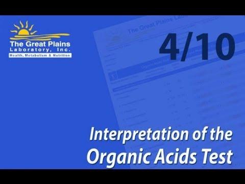 Interpretation of the Organic Acids Test (4/10)