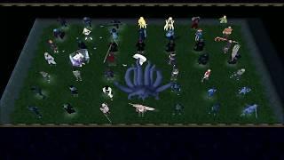 Warcraft 3 Naruto Battle Royale 002# Hidan,chouji