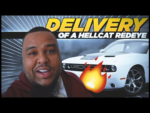 TAKING DELIVERY OF A HELLCAT REDEYE