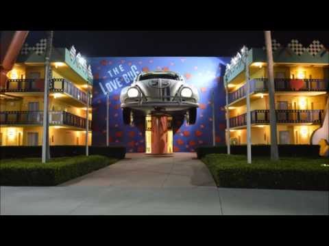 All Star Movies Resort Herbie the Love Bug Section at Walt Disney World