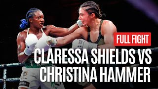 CLARESSA SHIELDS VS CHRISTINA HAMMER MIDDELWEIGHT WORLD TITLE UNIFICATION
