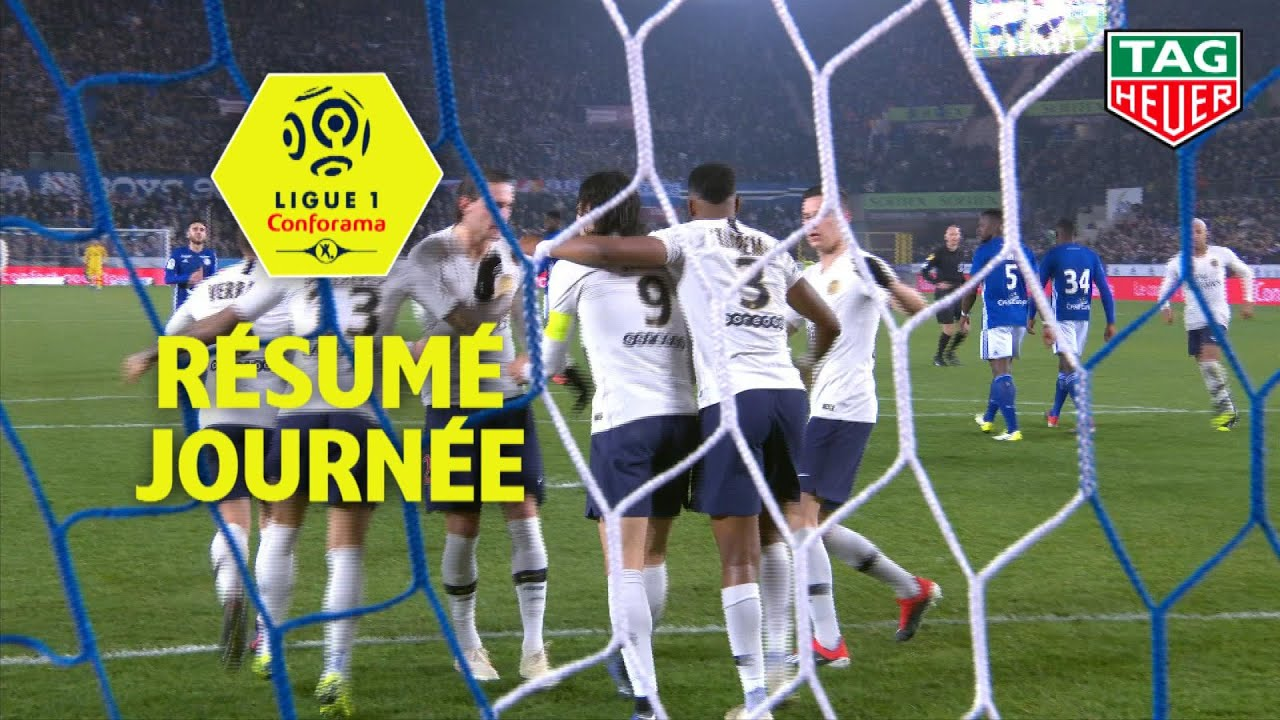 Coloriage Foot Sco Angers.Resume 16eme Journee Ligue 1 Conforama 2018 19 Youtube