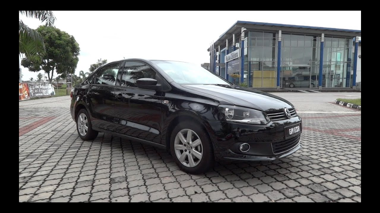 volkswagen polo sedan  start   full vehicle  youtube