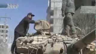 T-72M1 en Syrie,  2ème reportage   S/T