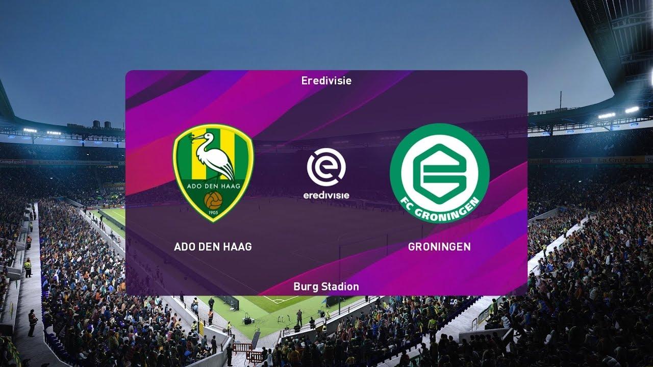 Pes 2020 Ado Den Haag Vs Groningen Netherlands Eredivisie 14 December 2019 Full Gameplay Hd Youtube