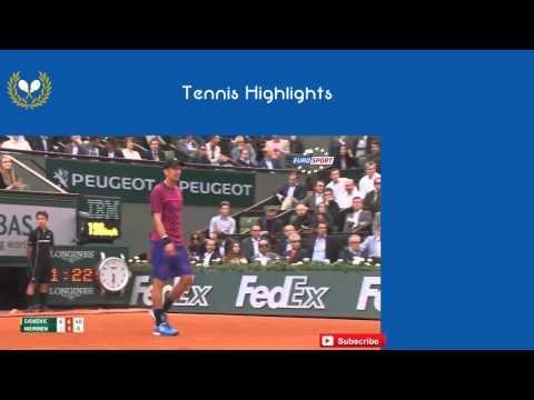 Novak Djokovic vs Jarkko Nieminen Highlights HD Roland Garros 2015  #1 1st Round