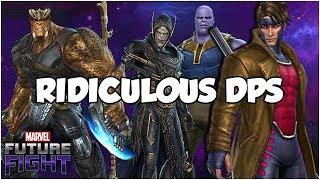 Epic Gambit Showcase! World Boss Smackdown x3 - Marvel Future Fight
