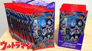 【レアカード出るか!?】ウルトラマン トップ製菓 ウルトラヒーロー プラスチックカードガム 第7弾 ウルトラマンオーブ ultraman orb plastics card gum 7